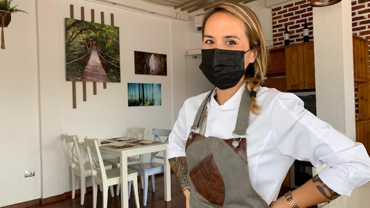 Cristina Monge, chef del restaurante Borneo