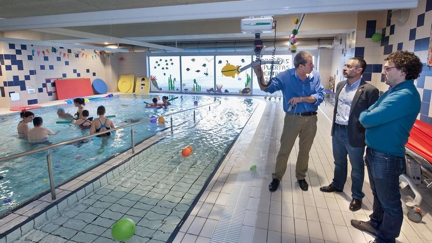 Los residentes con discapacidad intelectual severa del centro San José cuentan de nuevo con piscina