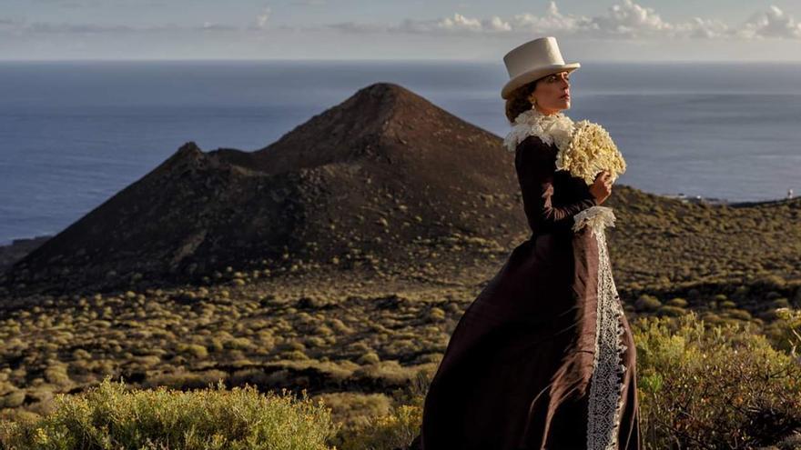 'La dama del volcán'.