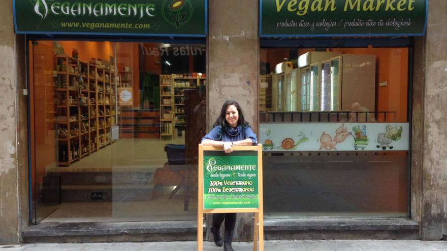 Idoia Rodríguez en Veganamente. Foto: Veganamente