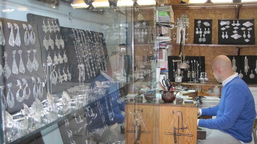 Un taller de joyería cordobesa.