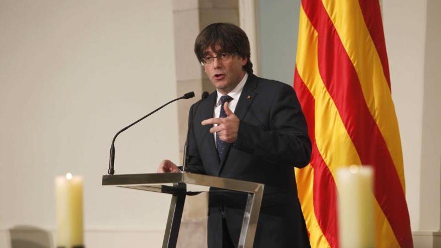 """Puigdemont no promoverá una nueva financiación y aspira a la independencia """"pronto"""""""
