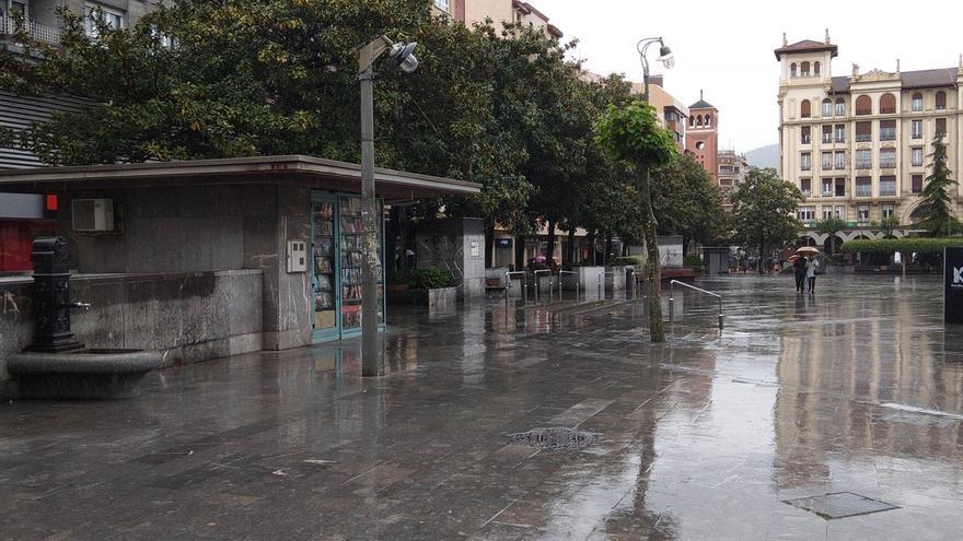 Activado el aviso amarillo para esta tarde en Euskadi por lluvias intensas