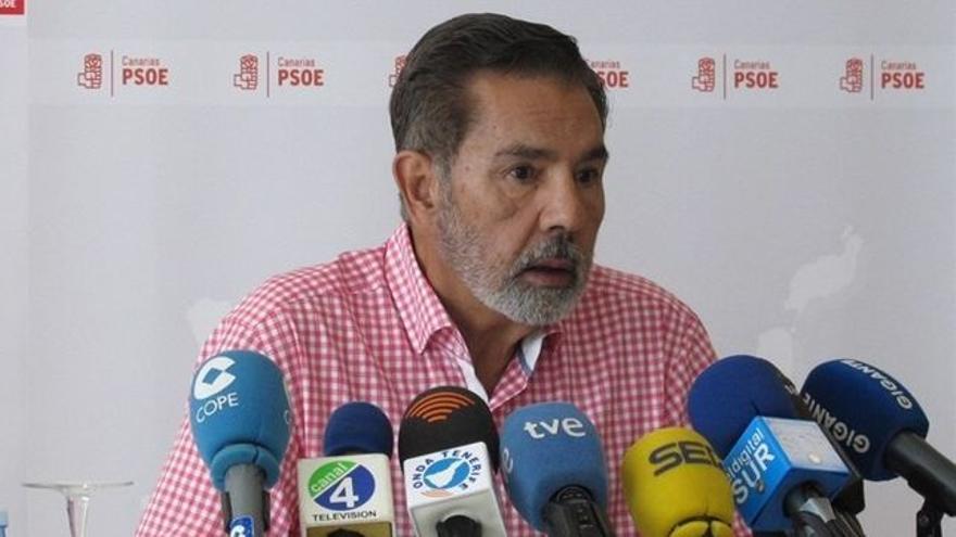 José Miguel Rodríguez Fraga, presidente de la Gestora canaria del PSOE