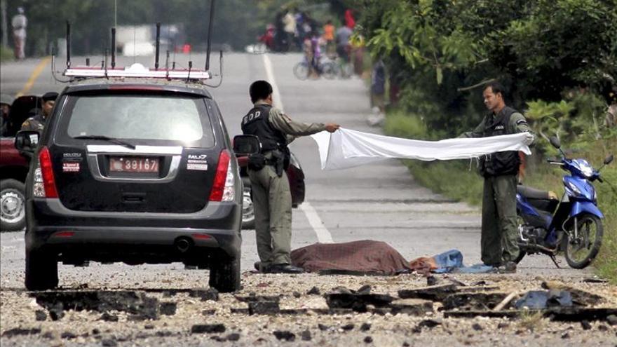 Mueren 32 personas en Tailandia durante octubre por la violencia separatista