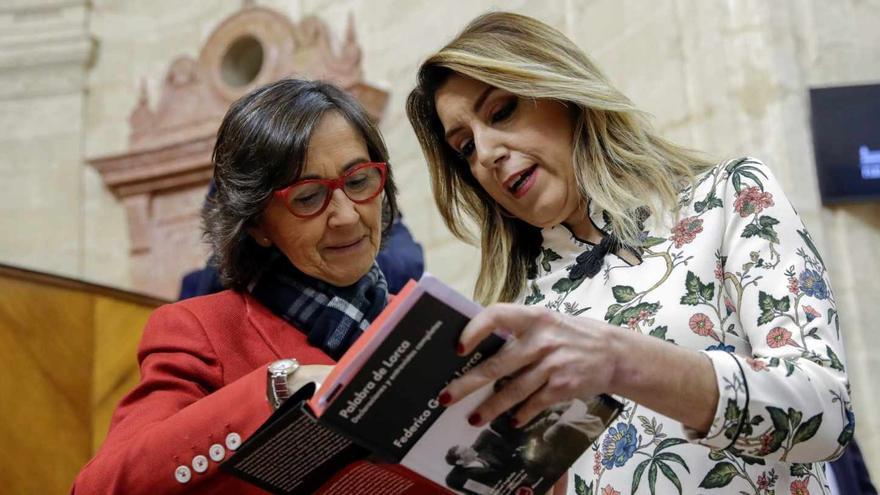 Rosa Aguilar fue consejera de Justicia en el anterior Gobierno de Susana Díaz.