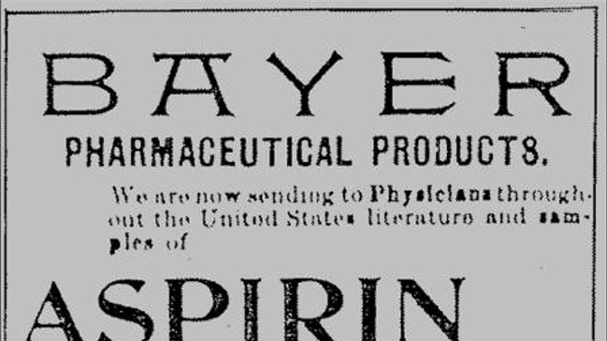 Bayer comercializaba la heroína junto con la aspirina.