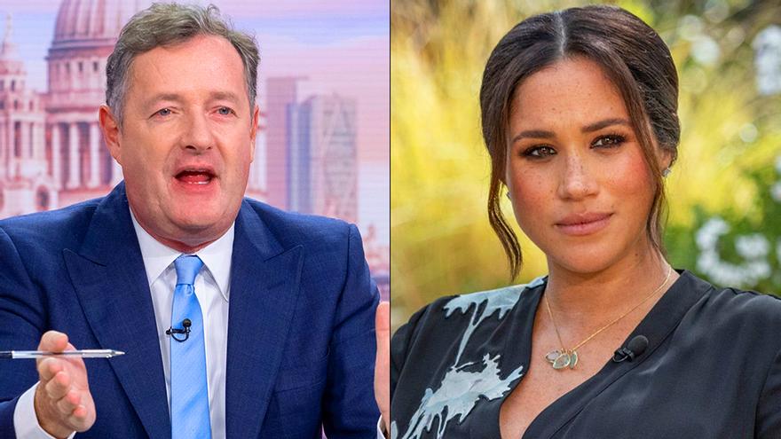"""Piers Morgan reincide contra las """"chorradas"""" de Meghan Markle y ataca ahora a CBS por llamarle racista"""