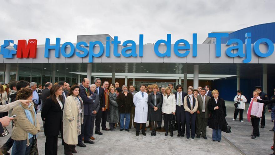 Inauguración del hospital del Tajo, uno de los adjudicados a HIMA.
