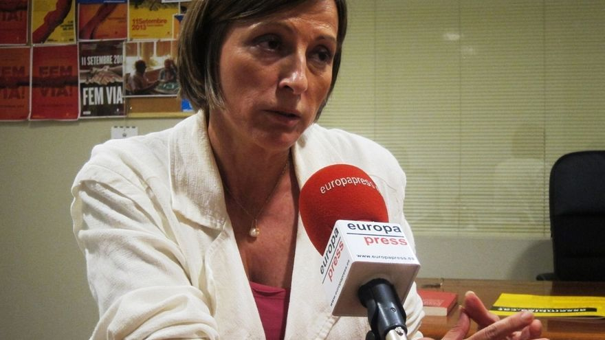 Forcadell (ANC) dice que es la Generalitat quien lidera la consulta