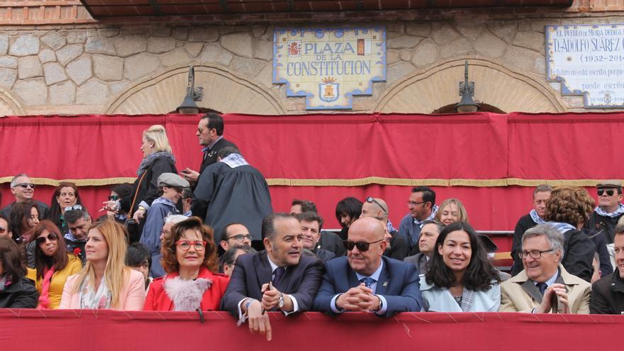 José Julián Gregorio en la Fiesta del Olivo de Mora (Toledo)