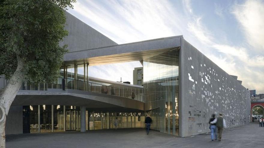 El centro TEA Tenerife Espacio de las Artes, en la zona de La Recova