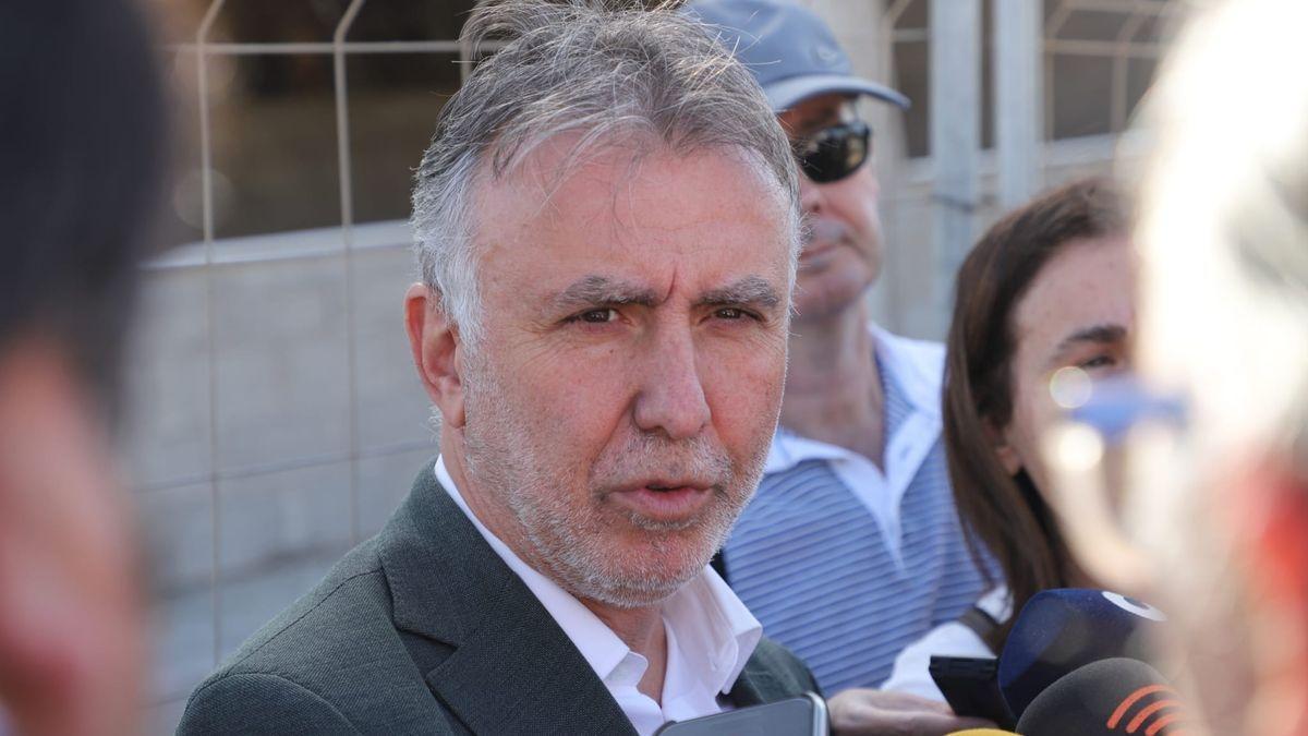 Ángel Víctor Torres, presidente del Gobierno de Canarias.