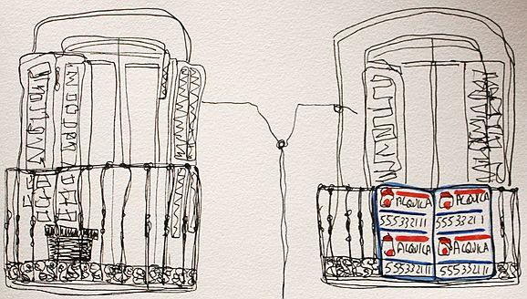 Balcones de Malasaña | Ilustración: Raquel Angulo