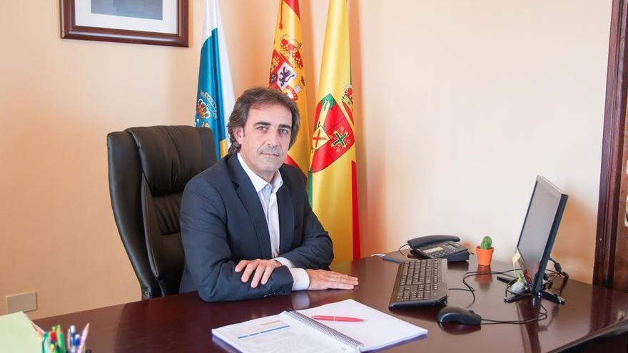Francisco Paz, candidato del PSOE al Senado por La Palma y actual alcalde de San Andrés y Sauces.