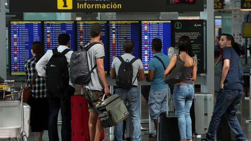 Desconvocada la huelga de los trabajadores de Iberia en aeropuerto El Prat