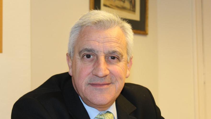 El presidente de CEAR Euskadi, Javier Galparsoro
