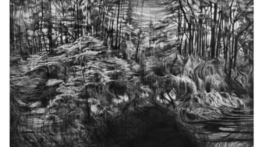 Una de las obras de la exposción 'On Paper'