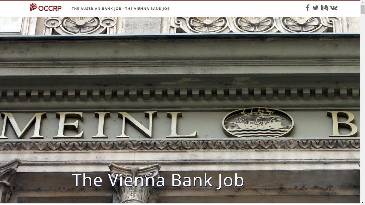 La investigación sobre los casos de supuesto lavado y corrupción del Meinl Bank fue publicada por el proyecto OCCRP (Informes sobre la Delincuencia Organizada y la Corrupción) en 2019, antes de que el Banco Central Europeo le quitara la licencia. Ahora, la Justicia argentina ahondará en el caso.