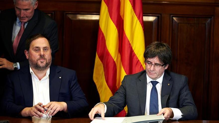 Queda suspendida oficialmente la convocatoria del referéndum de Cataluña