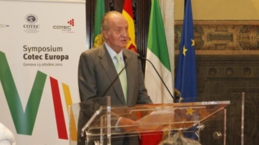 Su Majestad El Rey Don Juan Carlos En VII Encuentro Cotec