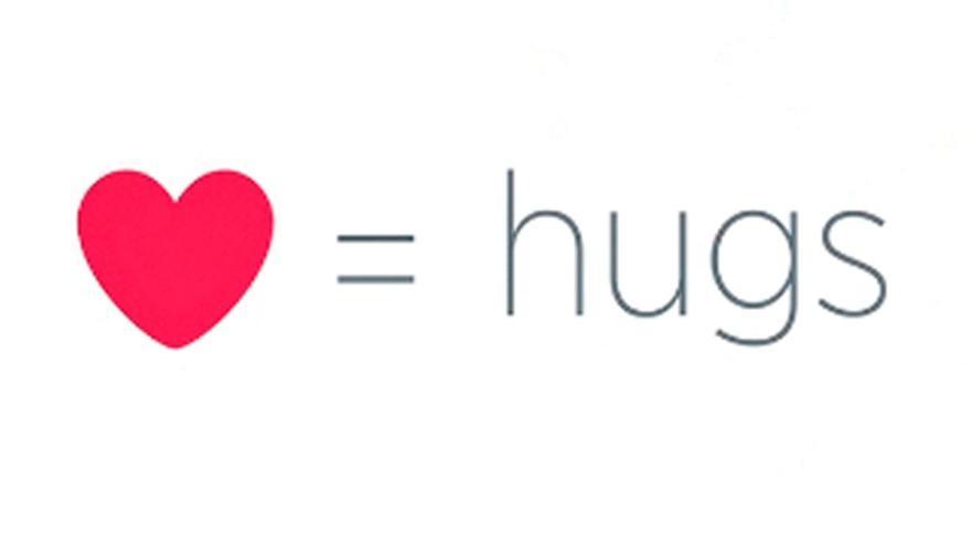 Corazón = abrazos