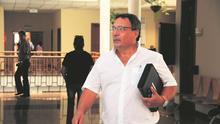 El portavoz de Coalición Canaria (CC) en el Cabildo de Lanzarote, Sergio Machín. (Diario de Lanzarote).
