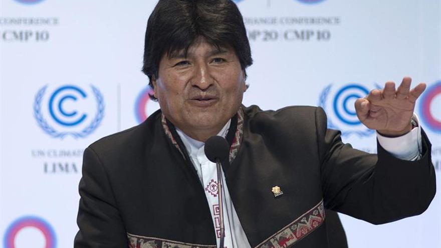 """Evo Morales pide erradicar el """"cáncer del capitalismo"""" el día de Madre Tierra"""