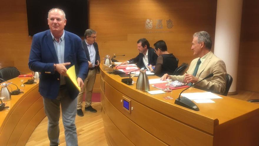 Luis Arquillos, diputado de Ciudadanos que ha presentado la propuesta sobre los becarios.