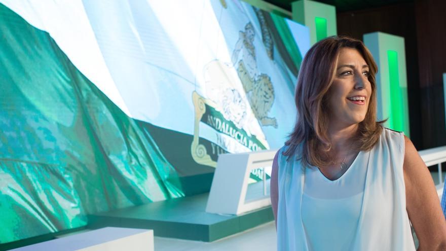 """Susana Díaz se muestra """"orgullosa"""" de ser andaluza y de su acento tras el comentario del cónsul en Washington"""
