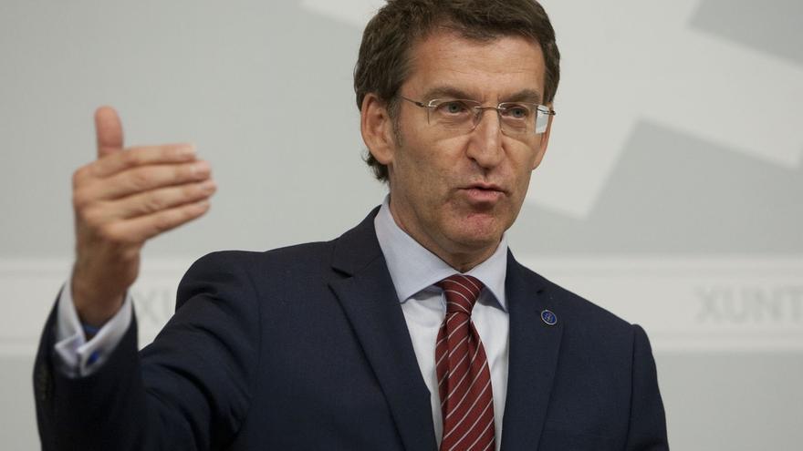 """(AV)Feijóo se ve """"más de Podemos que los de Podemos"""" y rechaza aspirar a ser """"vicepresidente"""" de esa fuerza"""