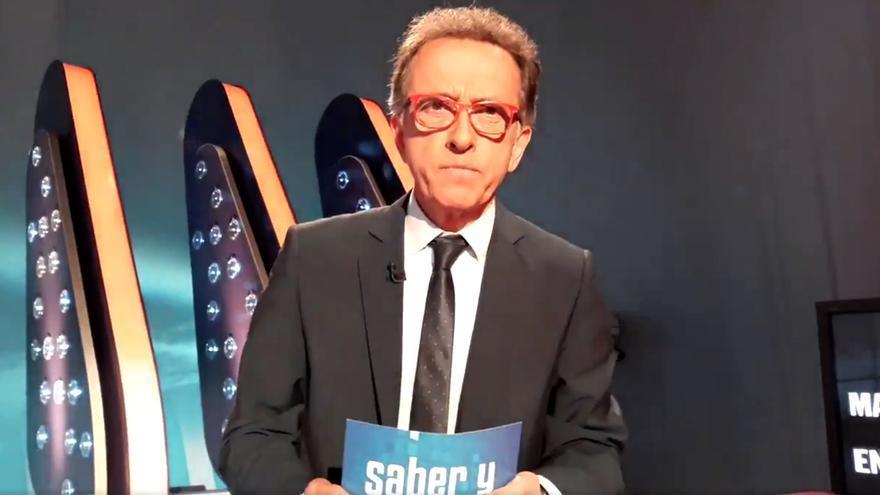 Jordi Hurtado recuerda a José Pinto desde el plató de 'Saber y Ganar'
