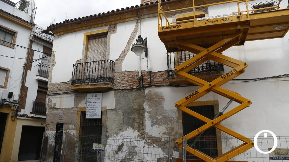 Casa de la calle San Pablo en ruinas