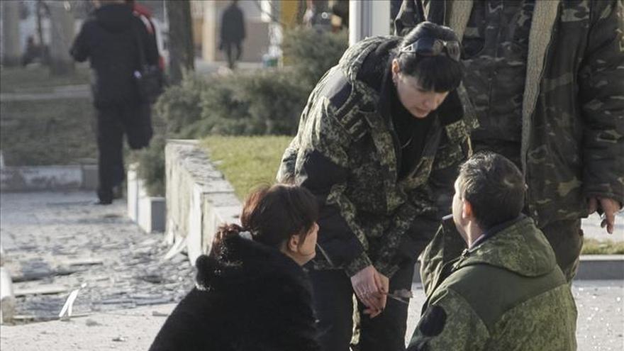 Gran tensión en Ucrania a la espera de la entrada en vigor del alto el fuego