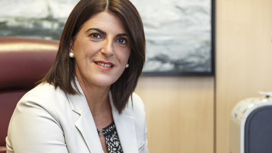 La directora de Infraestructura Educativa del Gobierno de Canarias, Ana Dorta.