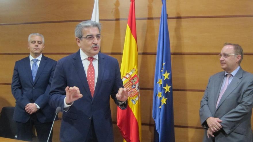 El vicepresidente del Gobierno de Canarias, Román Rodríguez