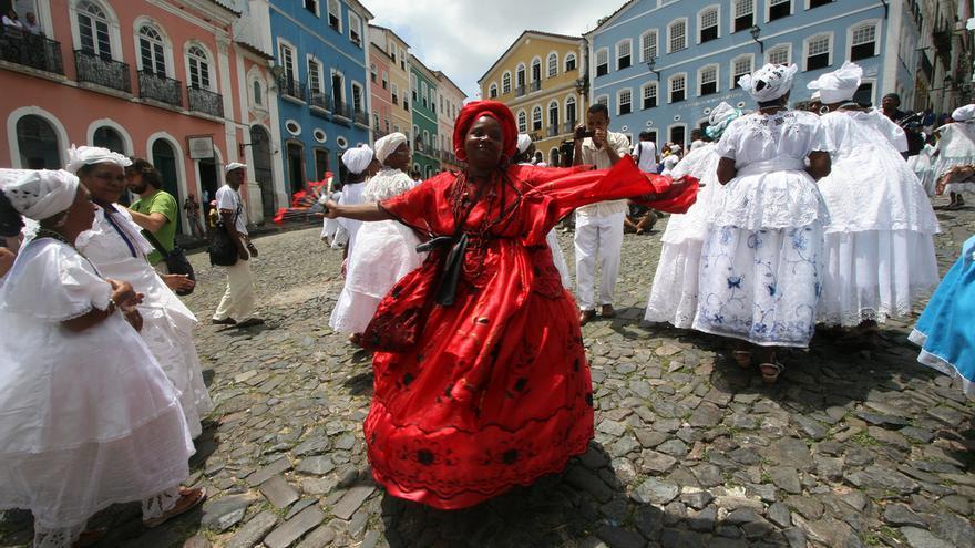 Fiesta en Salvador do Bahia. La cultura negra es protagonista de la ciudad más colonial de Brasil. GOVBA (CC)