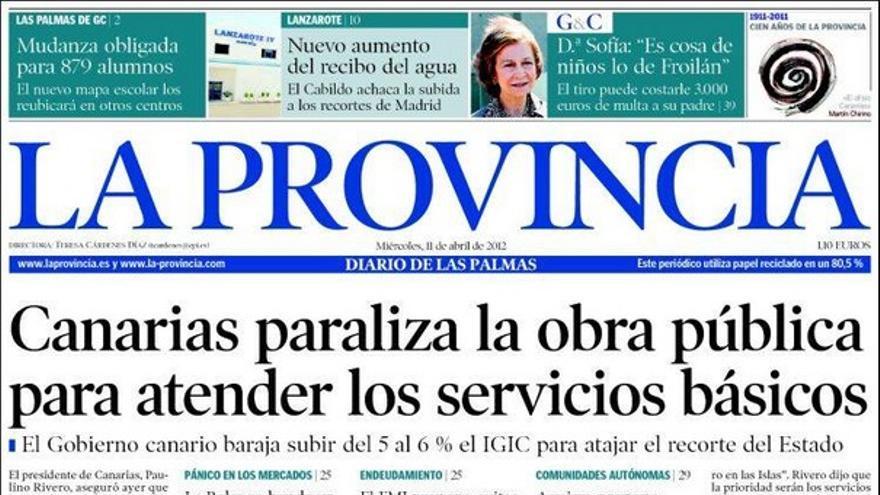 De las portadas del día (11/04/2012) #1