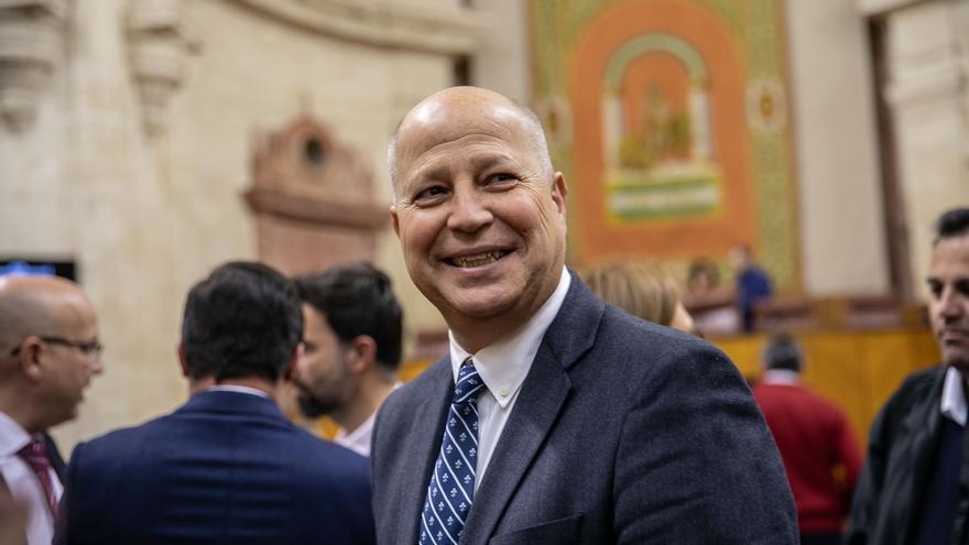 Javier Imbroda, consejero de Educación del Gobierno andaluz.