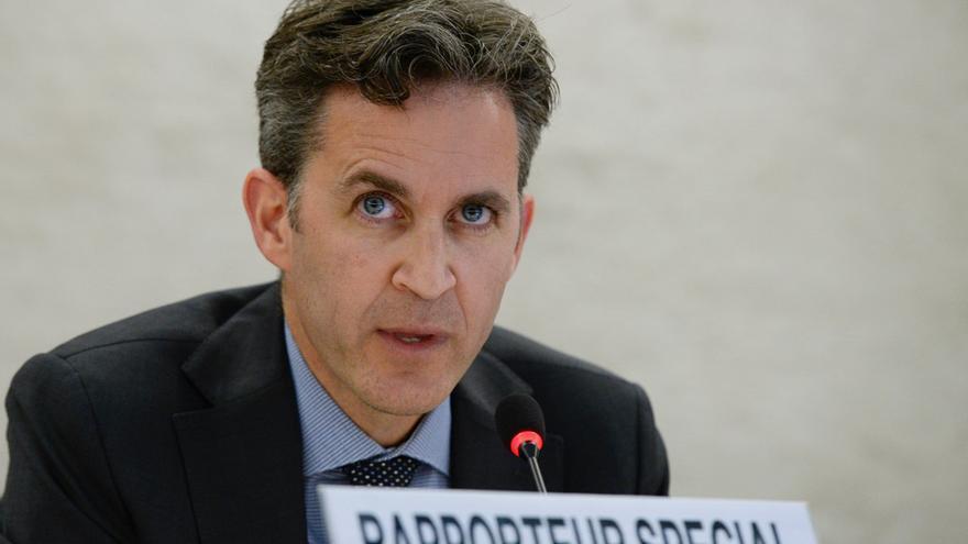 David Kaye, relator especial sobre la promoción y protección del derecho a la libertad de opinión y de expresión para el Consejo de Derechos Humanos de Naciones Unidas.