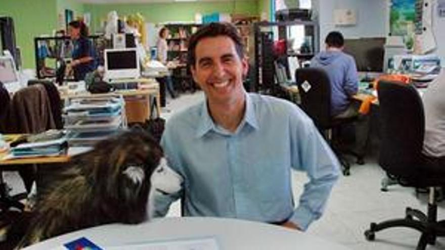 Arturo Boyra, director de Oceanográfica, en la sede de su empresa. (CANARIASINVESTIGA.ORG)
