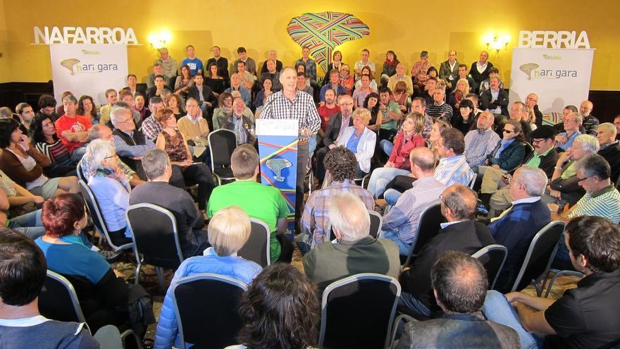 """Adolfo Araiz, candidato de EH Bildu a las elecciones forales, dice que """"es el momento del cambio sin exclusiones"""""""