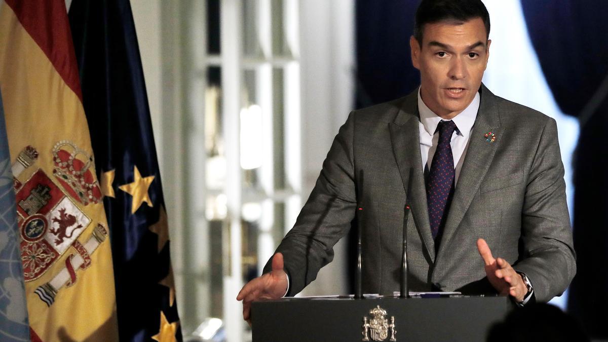 El presidente del gobierno Pedro Sánchez, la semana pasada. EFE/EPA/Peter Foley