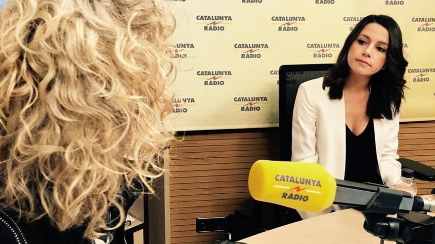 """Arrimadas (Cs) dice que Puigdemont """"se ha cargado"""" la autonomía de Catalunya"""
