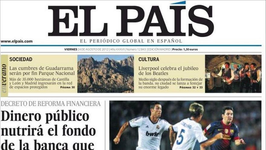 De las portadas del día (24/08/2012) #8
