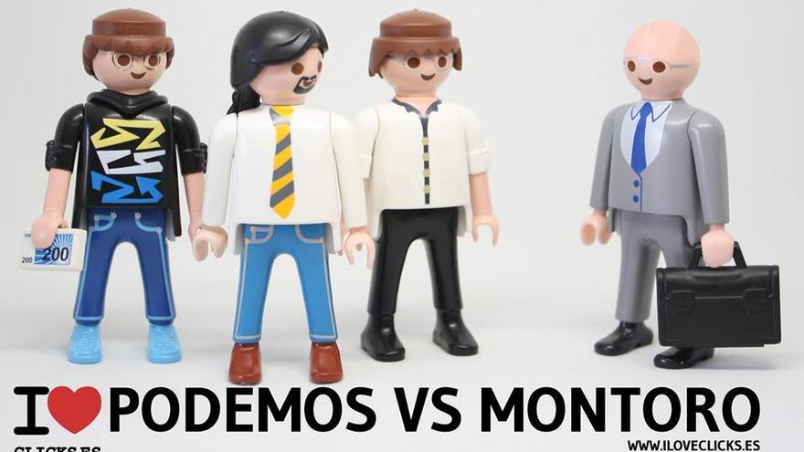 I love Podemos vs Montoro