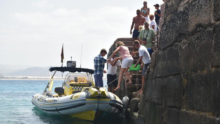 'Water taxi' en Lobos