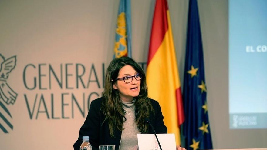 """Mónica Oltra sobre la condena al PP a pagar a Feria de Valencia: """"Queremos recuperar hasta el último céntimo"""""""