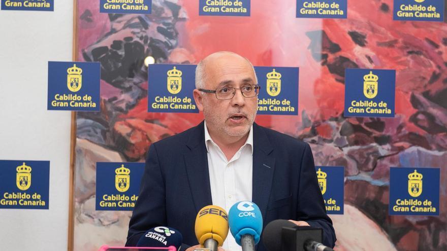 Antonio Morales, presidente del Cabildo de Gran Canaria.