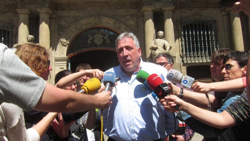 Joseba Asiron (EH Bildu) se ve como alcalde de Pamplona tras los primeros contactos